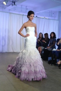 white-and-purple-ombre-wedding-dress