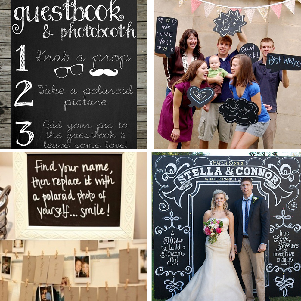 chalkboard cake topper weddingwise