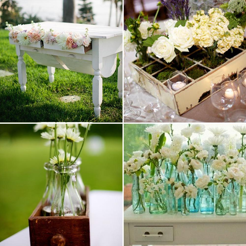 Vintage Flower Arrangements For Wedding: Vintage Wedding Furniture